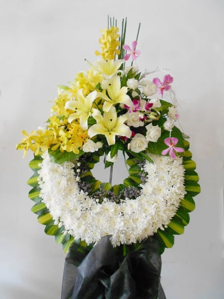 Hoa tang lễ chia buồn ở tpHCM