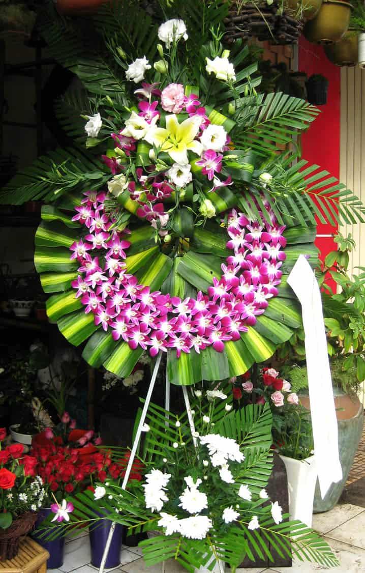 Hoa chia buồn ở TpHCM